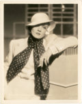 """Movie Posters:Miscellaneous, Marlene Dietrich by William Walling (Paramount, 1934). Portrait (8""""X 10"""").. ..."""