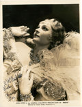 "Movie Posters:Drama, Anna Sten in ""Nana"" (United Artists, 1934). Autographed PortraitStill (8"" X 10"").. ..."