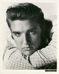 "Movie Posters:Elvis Presley, Elvis Presley in ""Love Me Tender"" (20th Century Fox, 1956).Portrait Still (8"" X 10"").. ..."