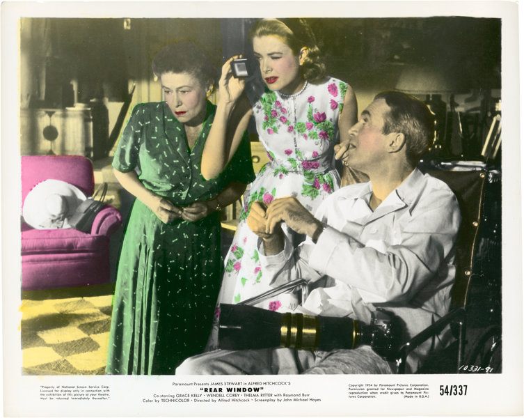 Image result for grace kelly and stewart in rear window