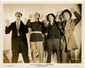 "Movie Posters:Comedy, The Marx Brothers in ""Duck Soup"" (Paramount, 1933). Stills (5) (8""X 10"").. ... (Total: 5 Items)"