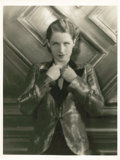 "Movie Posters:Drama, Norma Shearer in ""Strangers May Kiss"" by George Hurrell (MGM,1931). Portrait (9.5"" X 13"").. ..."