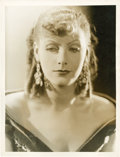 "Movie Posters:Drama, Greta Garbo in ""Romance"" by George Hurrell (MGM, 1930). Portrait(10"" X 13"").. ..."
