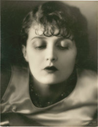 "Evelyn Brent by Melbourne Spurr (1930s). Portrait Still (10"" X 13.5"")"