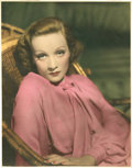 """Movie Posters:Drama, Marlene Dietrich in """"The Garden of Allah"""" (United Artists, 1936). Color Still (10.5"""" X 13.5"""").. ..."""