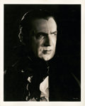 """Movie Posters:Horror, Bela Lugosi in """"Mark of the Vampire"""" by Clarence Sinclair Bull (MGM, 1935). Portrait (8"""" X 10"""").. ..."""