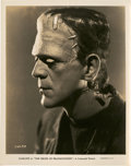 "Movie Posters:Horror, Boris Karloff in ""The Bride of Frankenstein"" (Universal, 1935).Portrait Stills (3) (8"" X 10"").. ... (Total: 3 Items)"