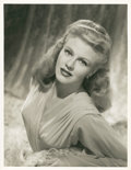"""Movie Posters:Comedy, Ginger Rogers in """"Week-End at the Waldorf"""" by Eric Carpenter Lot(MGM, 1945). Portrait Stills (2) (10.5"""" X 13"""" and 10"""" X 13""""...(Total: 2 Items)"""