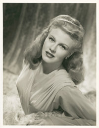 "Ginger Rogers in ""Week-End at the Waldorf"" by Eric Carpenter Lot (MGM, 1945). Portrait Stills (2) (10.5""..."