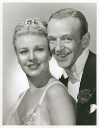 """Fred Astaire and Ginger Rogers in """"The Barkleys of Broadway"""" Lot (MGM, 1949). Stills (2) (10"""" X 13"""")..."""