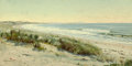Fine Art - Painting, American:Antique  (Pre 1900), WILLIAM TROST RICHARDS (American, 1833-1905). The Beach,Morning, circa 1888. Oil on panel. 10 x 20 inches (25.4 x 50.8...
