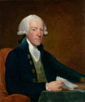 Fine Art - Painting, American:Antique  (Pre 1900), GILBERT STUART (American, 1755-1828). Portrait of the RightHonorable William Brownlow, circa 1790. Oil on canvas. 30 x ...