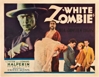 "White Zombie (United Artists, 1932). Half Sheet (22"" X 28"")"