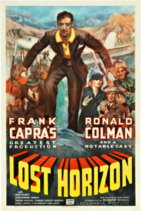 "Lost Horizon (Columbia, 1937). One Sheet (27"" X 41"") Style C"