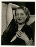 """Movie Posters:Miscellaneous, Norma Shearer by George Hurrell (MGM, Early 1930s). Portrait (10"""" X 13"""").. ..."""