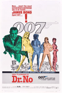 "Dr. No (United Artists, 1962). One Sheet (27"" X 41"")"