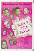 "Movie Posters:Rock and Roll, Rock 'N' Roll Revue (Studio Films, 1955). One Sheet (27"" X 41"")....."