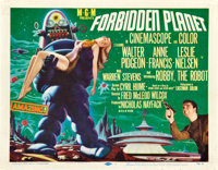 """Forbidden Planet (MGM, 1956). Title Lobby Card (11"""" X 14"""")"""