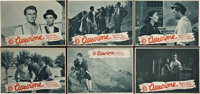 "Ossessione (ICI, 1943). Italian Photobustas (20) (10.25"" X 14.5""). ... (Total: 20 Items)"