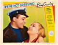 "Movie Posters:Comedy, We're Not Dressing (Paramount, 1934). Lobby Card (11"" X 14"").. ..."