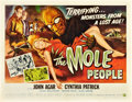 """Movie Posters:Science Fiction, The Mole People (Universal International, 1956). Half Sheet (22"""" X28"""") Style B.. ..."""