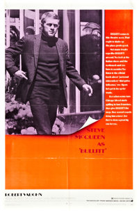"Bullitt (Warner Brothers, 1968). One Sheet (27"" X 41"")"