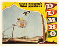 "Movie Posters:Animated, Dumbo (RKO, 1941). Lobby Card (11"" X 14"").. ..."