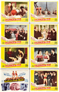 """Movie Posters:Musical, Gentlemen Prefer Blondes (20th Century Fox, 1953). Lobby Card Set of 8 (11"""" X 14"""").. ... (Total: 8 Items)"""