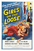 "Movie Posters:Bad Girl, Girls on the Loose (Universal International, 1958). One Sheet (27""X 41"").. ..."