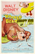 "Movie Posters:Animated, Hooked Bear (RKO, 1956). One Sheet (27"" X 41"").. ..."
