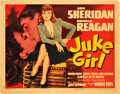"Movie Posters:Bad Girl, Juke Girl (Warner Brothers, 1942). Title Lobby Card (11"" X 14"")....."