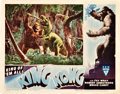 "Movie Posters:Horror, King Kong (RKO, R-1946). Lobby Card (11"" X 14"").. ..."