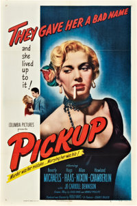 "Pickup (Columbia, 1951). One Sheet (27"" X 41"")"