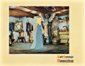 "Movie Posters:Animated, Pinocchio (RKO, 1940). Lobby Card (11"" X 14"").. ..."