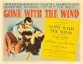"Movie Posters:Romance, Gone with the Wind (MGM, 1940). Title Lobby Card (11"" X 14"").. ..."