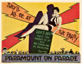 "Movie Posters:Musical, Paramount on Parade (Paramount, 1930). Lobby Card (11"" X 14"").. ..."