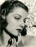 """Movie Posters:Miscellaneous, Ann Sheridan by Scotty Welbourne (Warner Brothers, late 1930s). Portrait (10.5"""" X 13.5"""").. ..."""