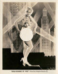 """Movie Posters:Musical, Joan Blondell in """"Gold Diggers of 1933"""" (Warner Brothers, 1933).Still (8"""" X 10"""").. ..."""