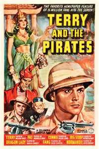 "Terry and the Pirates (Columbia, 1940). Stock One Sheet (27"" X 41"")"