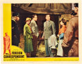 "Movie Posters:Hitchcock, Foreign Correspondent (United Artists, 1940). Lobby Card (11"" X14"").. ..."