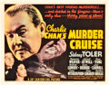 """Movie Posters:Mystery, Charlie Chan's Murder Cruise (20th Century Fox, 1940). Title Lobby Card (11"""" X 14"""").. ..."""