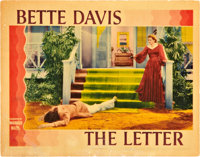 """The Letter (Warner Brothers, 1940). Lobby Card (11"""" X 14"""")"""