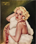 "Movie Posters:Miscellaneous, Alice Faye by Alberto Vargas (Fox, 1935). Poster (14"" X 17.25"")....."