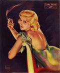 "Movie Posters:Miscellaneous, Claire Trevor by Alberto Vargas (Fox, 1935). Poster (14"" X17.25"").. ..."