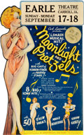 "Movie Posters:Musical, Moonlight and Pretzels (Universal, 1933). Die-Cut Window Card (14""X 22"").. ..."