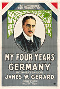 "Movie Posters:War, My Four Years in Germany (First National, 1918). One Sheet (27"" X41"").. ..."