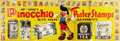 "Movie Posters:Animated, Pinocchio IGA Collectible Stamps (RKO, 1940). Promotional Poster(26.5"" X 78"").. ..."