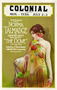 """The Dove (United Artists, 1927). Window Card (14"""" X 22"""")"""