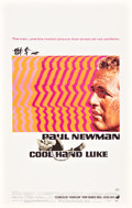 "Movie Posters:Drama, Cool Hand Luke (Warner Brothers, 1967). Window Card (14"" X 22"")....."
