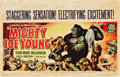 "Movie Posters:Adventure, Mighty Joe Young (RKO, 1949). Horizontal Window Card (14"" X 22"")....."